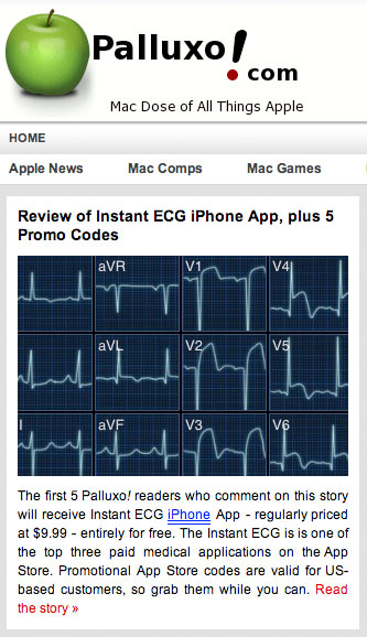 Pulluxo! Review of Instant ECG